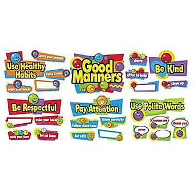 Trend Enterprises® Bulletin Board Set, Good Manners