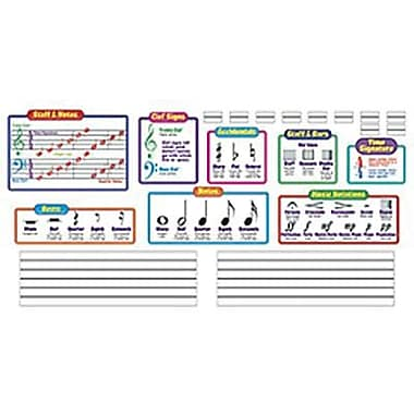 Trend Enterprises® Bulletin Board Set, Music Symbols-Wipe-Off®