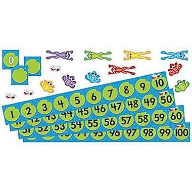 Trend Enterprises® Bulletin Board Set, Frog Pond Number Line