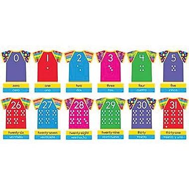 Trend Enterprises® Bulletin Board Set, Razzle-Dazzle Shirts