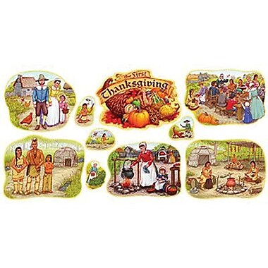 Trend Enterprises® Bulletin Board Set, First Thanksgiving