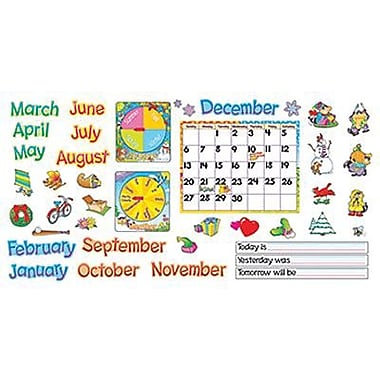 Trend Enterprises® Bulletin Board Set, Monthly Calendar-Cling Wipe-Off®