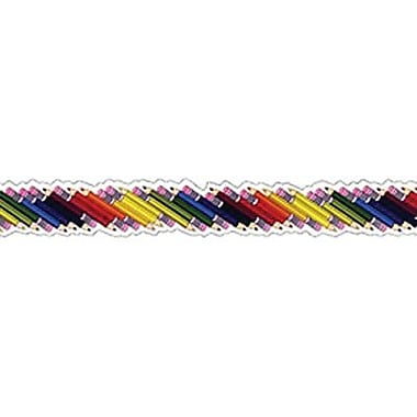 Trend Enterprises® pre-school - 5th Grades Bolder Border, Colored Pencils