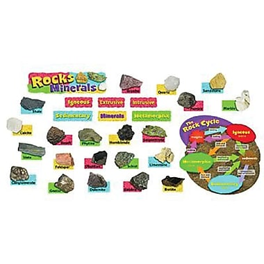 Trend Enterprises® Mini Bulletin Board Set, Rocks and Minerals