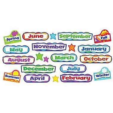 Trend Enterprises® Mini Bulletin Board Set, Monthly and Seasonal Headers
