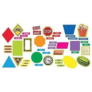 Trend Enterprises® Mini Bulletin Board Set, Geometric Shapes