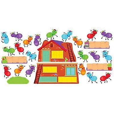 Trend Enterprises® Mini Bulletin Board Set, Busy Ants Job Chart