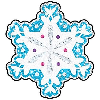 Trend Enterprises® Classic Accents Sparkle, Shimmering Snowflakes