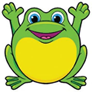 Trend Enterprises® Pre-kindergarten - 3rd Grades Classic Accents, Friendly Frogs