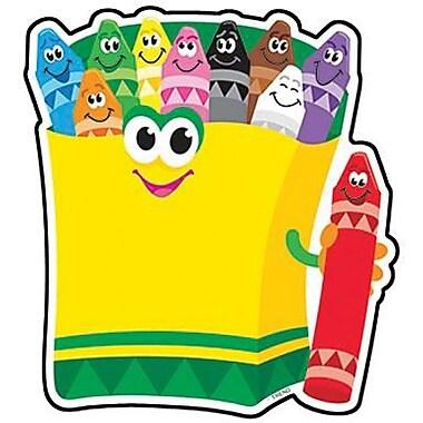 Trend Enterprises® Pre-kindergarten - 3rd Grades Classic Accents, Colorful Crayons