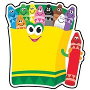 Trend Enterprises® Pre-kindergarten - 3rd Grades Classic Accents, Colorful Crayons