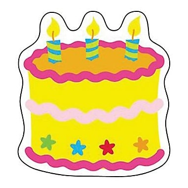 Trend Enterprises® Mini Accents, Birthday Cake