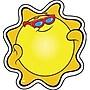 Trend Enterprises® Mini Accents, Sun
