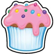 Trend Enterprises® Mini Accents, Cupcake