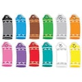 Trend Enterprises® pre-kindergarten - 2nd Grades Classic Accents, Crayon Colors