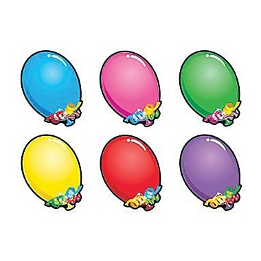 Trend Enterprises® pre-kindergarten - 9th Grades Classic Accents, Bright Balloons