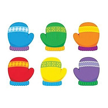 Trend Enterprises® Kindergarten - 4th Grades Classic Accents, Multi Color Mittens