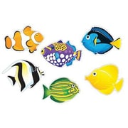 """TREND T-10936 6"""" DieCut Fish Friends Classic Accents, Assorted"""