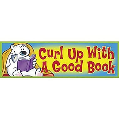 Trend Enterprises® Curl Up With A Good Book Bookmark, Grades 1st - 6th