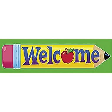 Trend Enterprises® Welcome Bookmark, Grades 1 - 6, Grades 1st - 6th