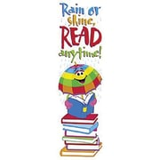Trend Enterprises® Rain Or Shine Read Anytime! Bookmark, Grades Kindergarten - 6th