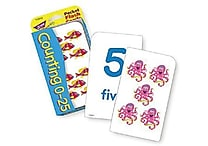 Trend Enterprises® Pocket Flash Cards, Counting 0 - 25