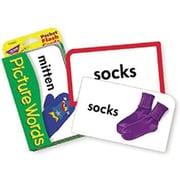Trend Enterprises® Picture Words Pocket Flash Cards, Grades pre-kindergarten - 2nd