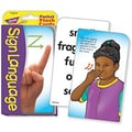 Trend Enterprises® Sign Language Pocket Flash Cards, Grades 2nd - 6th