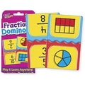 Trend Enterprises® Fractions Dominoes Challenge Cards, Grades 4th - 9th