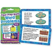 Trend Enterprises® TChallenge Card, Word Problems Test Prep Math