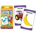 Trend Enterprises® Picture Words Crazy 8s Challenge Card