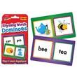 Trend Enterprises® Rhyming Words Dominoes Challenge Cards
