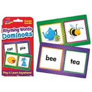 Trend Enterprises® Rhyming Words Dominoes Challenge Cards