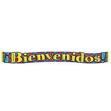 TREND T-25024 10' Bienvenidos Quotable Expressions Banner, Multicolor