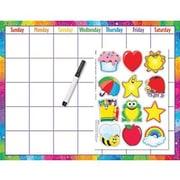 Trend Enterprises® Wipe-Off® Reusable Calendar Cling Kit (Cling Accents)