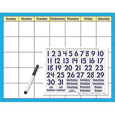 Trend Enterprises® Wipe-Off® Reusable Calendar Cling Kit (Cling Numerals)