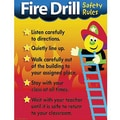 Trend Enterprises® Fire Drill Safety Rules Learning Chart