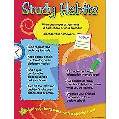 Trend Enterprises® Study Habits Learning Chart