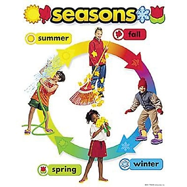Trend Enterprises® Seasons Learning Chart