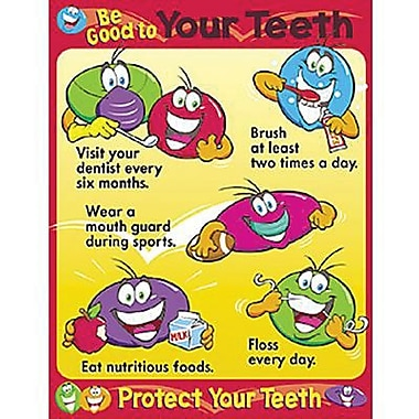 Trend Enterprises® Be Good To Your Teeth Learning Chart