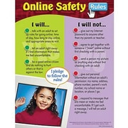 Trend Enterprises® Online Safety Rules Learning Chart