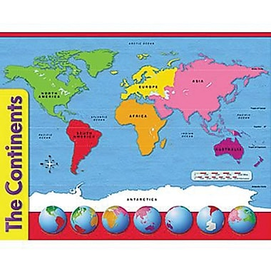 Trend Enterprises® The Continents Learning Chart
