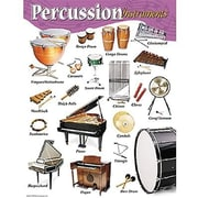 Trend Enterprises® Percussion Instruments Learning Chart