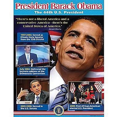 Trend Enterprises® President Barack Obama Learning Chart