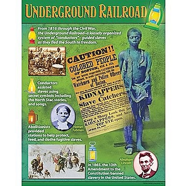 Trend Enterprises® Underground Railroad Learning Chart