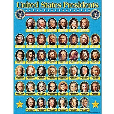 Trend Enterprises® United States Presidents Learning Chart
