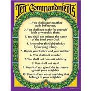 Trend Enterprises® Ten Commandments Learning Chart