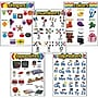 Trend Enterprises® Learning Charts Combo Packs Kindergarten Basic