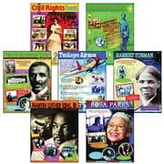 Trend Enterprises® African-American History Learning Chart, Combo Pack
