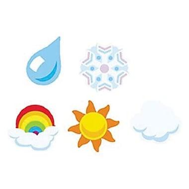 Trend Enterprises® SuperShapes Stickers, Weather